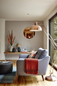 as an accent to highlight an alcove
