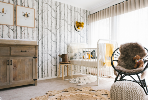 calm-yet-creative-baby-boy-nautical-nursery-woodland-themed-imaginative-great-ideas-decoration-closer-space-trees-patterns-wallpaper-framed-wood