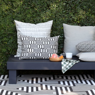 An outdoor collection from Hertex Fabrics